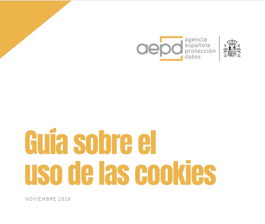 Guía sobre el uso de las cookies Noviembre 2019